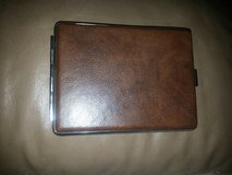 BROWN FAUX LEATHER CIGARETTE CASE in Bartlett, Illinois