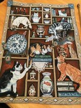 Cat - Tapestry - 26x36 in Beaufort, South Carolina