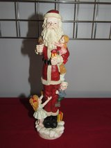 Ceramic Santa Clause Figurine in Yorkville, Illinois