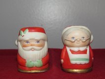 Vintage Thimbles~Mr & Mrs Santa Clause by NAPCO~Reduced in Yorkville, Illinois