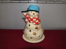 Hallmark Tea Light Snowman in Yorkville, Illinois