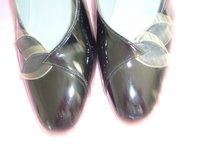 Black Patent leather shoes size 4 1/2 in Lakenheath, UK