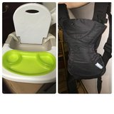 Infantino front/back carrier, booster seat in Wiesbaden, GE