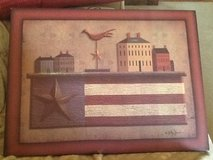 "Primitive country ""Americana"" canvas print by Billy Jacobs in Fort Knox, Kentucky"