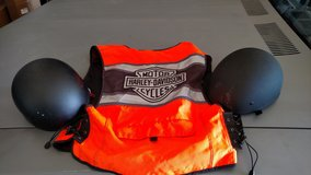 His and hers helmets & vest in Alamogordo, New Mexico
