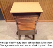 VINTAGE-School Desk in Shorewood, Illinois