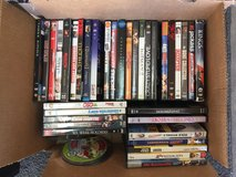 Two boxes of DVDs in Alamogordo, New Mexico