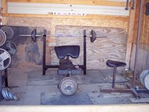 Olympic Exercise Equipment-COMPLETE SET UP! in Alamogordo, New Mexico