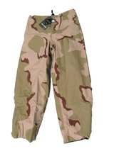 (New with Tag) Gore tex Pant Reversible Woodland and Desert Camo (Small Regular) in Virginia Beach, Virginia