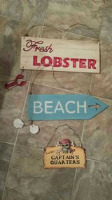 4 Beach Signs in Wilmington, North Carolina