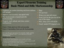 Expert Firearms Training with emphasis on combat shooting and home defense in Virginia Beach, Virginia