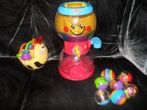 Fisher-Price Roll a Rounds Gumball Machine & Go Baby Go Gigglin' Bee Ball in Fort Riley, Kansas