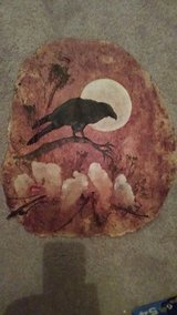 Native American raven art in Algonquin, Illinois