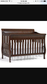 Baby Europa Crib-Used (Mattress Included) in Conroe, Texas