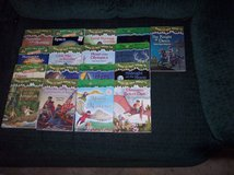 17 magic tree house books 3 fact trackers mummies space titanic etc. in Alamogordo, New Mexico
