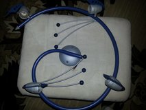 Spiral seiling  lamp in blu color for kid's room in Ramstein, Germany