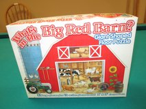 BIG RED BARN FLOOR PUZZLE in Bolingbrook, Illinois