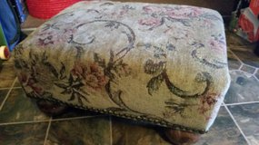 Tapestry Button Foot Stool in Fort Campbell, Kentucky