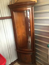 Antique Corner Curio Cabinet in Conroe, Texas