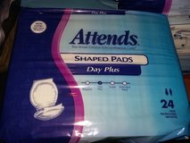 2 packs-Attends Shaped Pads Day Plus-24ct in Vacaville, California
