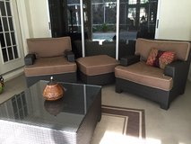 SUNBRELLA 4 PIECE PATIO SET in MacDill AFB, FL