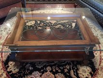 CHERRY & IRON COFFEE TABLE in MacDill AFB, FL