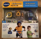 VTECH KIDIZOOM ACTION CAM + SMARTWATCH SMART WATCH COMBO BUNDLE SET Boys in Chicago, Illinois
