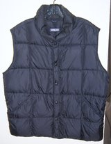 MENS LAND'S END GOOSEDOWN VEST in Lakenheath, UK