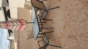 8 Piece Outdoor Furniture Set with Umbrella! Brand new! in Nellis AFB, Nevada