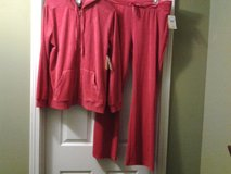 *NEW* Everlast Sport RED Velour Hooded Jacket & Pants in Eglin AFB, Florida