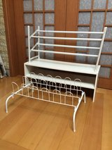 Shoe Shelves: Set of 3 in Osan AB, South Korea