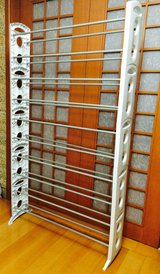 Shoe Rack holds 50+ pairs in Osan AB, South Korea