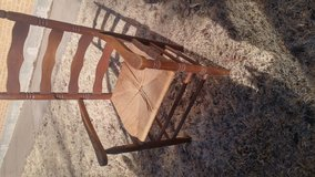 Ladder back chair in Salina, Kansas