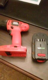 18v Black and Decker cordless drill in Fort Benning, Georgia