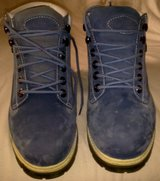 Lugz Blue Suede Hiking Boots in Ramstein, Germany