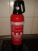 fire extinguisher in Ramstein, Germany