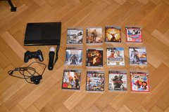 PS 3 with games in Schweinfurt, Germany