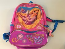 Disney Rapunzel School Backpack in Aurora, Illinois