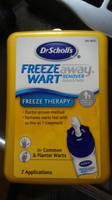 Dr. Scholl's Freeze Away Wart Remover, 7 Treatments, New in Houston, Texas