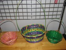 Easter Baskets~Set of Three in Yorkville, Illinois