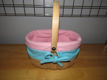 Woven Lined Easter Basket~Reduced in Sandwich, Illinois