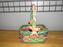 Ornate Wicker Easter Basket~Reduced in Yorkville, Illinois