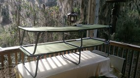 TWO Ozark Trail cots *****LIKE NEW!!!***** in Beaufort, South Carolina