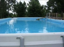 Intex Swimming Pool 32 foot by 16 foot 52 inches in Alamogordo, New Mexico