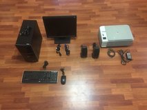 HP Pavillion p6610f desktop computer, monitor, printer and speakers for sale in Osan AB, South Korea