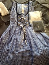 Blue Dirndl size 42 NEW in Bellevue, Nebraska