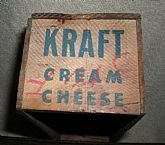 Vintage Wood, Kraft, Cheese, Boxes/early 1940's in Los Angeles, California