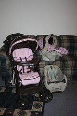 Graco girls stroller, carseat in Moody AFB, Georgia