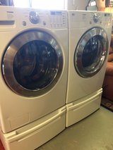LG Tromm Washer and Electric dryer in Conroe, Texas