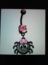 spider belly ring in Camp Lejeune, North Carolina